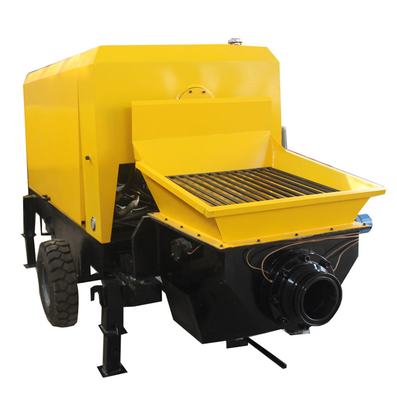 Mini Hydraulic Type Concrete Pump Cement Mortar Conveying Pump