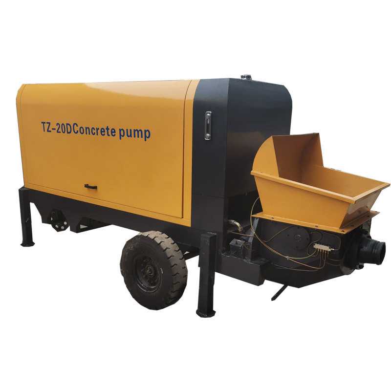 Widely Used Concrete Trailer Pump for Sale